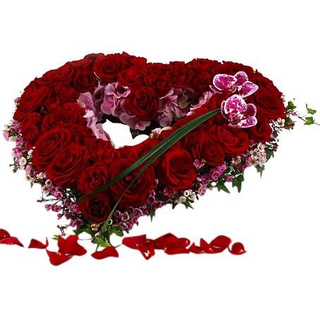 blomsterkrans till begravning