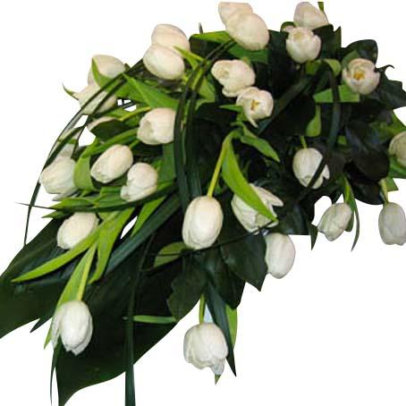 lämpliga blommor vid begravning